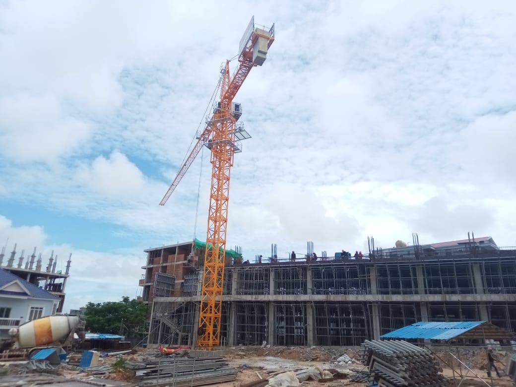 LZ Sea View Residences – site on 14 8 2019 Form works to 2nd